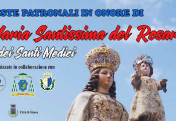 copertina feste patronali madonna del rosario