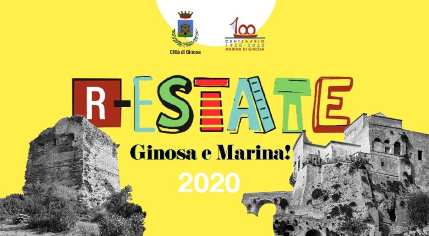 Copertina eventi estivi GINOSA 2020